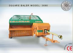 بیلر مربعی گالینیانی برچینکار مدل ۳۶۹۰