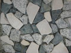 Street ceramic tile