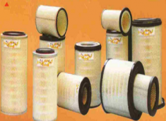 Filters for compressors and compressed air
