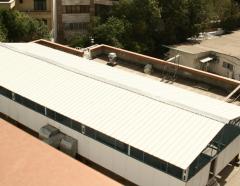 Inflatable hangars