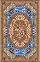 فرش ابریشم مصنوعی طرح برجسته