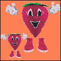 لواشک توت فرنگی