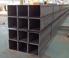 Profile pipes of rectangular section