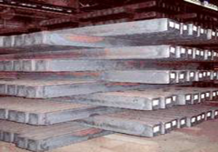 Plates of rolled steel