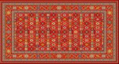 فرش ستاره مدل   1124/22