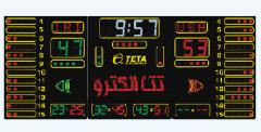 اسكوربورد تخصصي چند منظوره با نمايشگر تمام رنگي  TS5 RGB