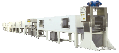 Equipment for the production of chocolate