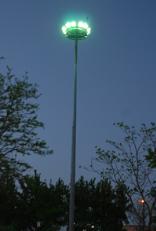 Towers illuminating