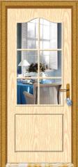 Doors made of glass interior