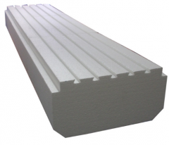 Extruded styrofoam for ceiling