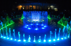 Music fountains