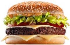 همبرگر ممتاز 60% گوشت
