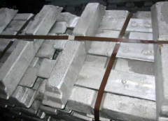 Copper-zinc, ingots