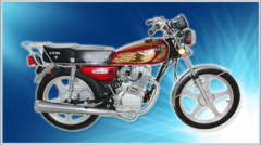 موتور سیکلت همرو ۱۲۵سی .جی / سی .دی .ای