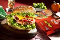 همبرگر ممتاز90  درصد