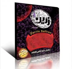زعفران سرگل ممتاز در بسته بندی صادراتی مشکی