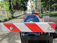 Anti ram barriers prohibitive