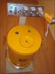 دستگاه رنگپاش پودری الکترواستاتیک