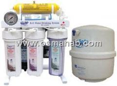 دستگاه تصفیه آب خانگی  شش مرحله ای پایه دار  با