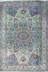 فرش نایین طرح گنبدی