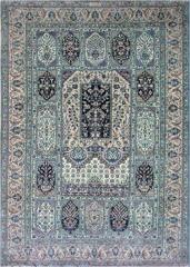 فرش نایین طرح گلستان