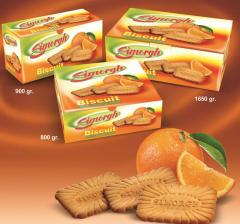بیسکوئیت با پرتقالی