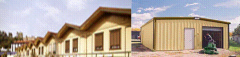 Buildings prefabricated panels