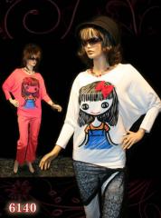 بلوز کیمونو چاپ عروسکی