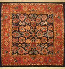 فرش دستی ایرانی طرح سروش افشان