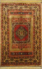 فرش دستی ایرانی طرح سامان