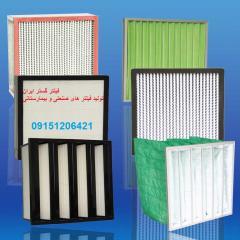 فیلتر کفی پلیتد کربن فعال هواساز