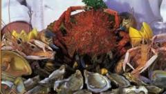 گوشت و غذاهای دریایی