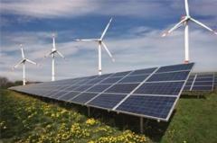 پنل خورشیدی و توربین بادی و اینوتر و باتری