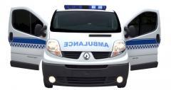 آمبولانس رنو ترافیک