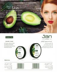 Avocado Jan Cream  کرم دست و صورت آووکادو ژان