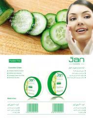 Cucumber Jan Cream  کرم دست و صورت خیار ژان