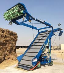 Machines for harvesting and distribution of fodder