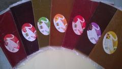 لواشک تنوری قوماش باطعم های:زردآلو،پرتقال،آلبالو،زرشک،انار،آلو،کیوی