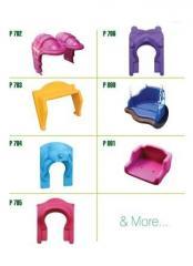 Polyethylene playground parts