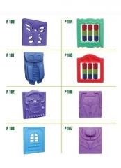 Playground  Polyethylene parts