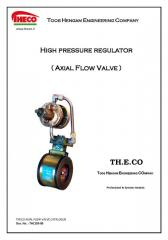 AXIAL FLOW VALVE CATALOGUE