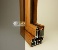 Wood Effect Coatings on Profile and Plate