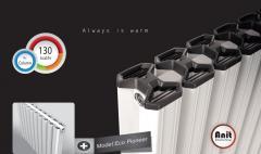 Aluminium Radiator '' A+ Energy Level'' . Model Name : Eco- Pioneer