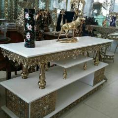 Bronze tv desk furniture antique