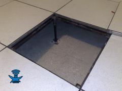 کف کاذب-False-faced -Access floor