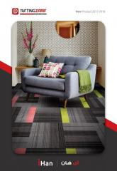 All type of wall to wall carpet ( Non-woven & Tufting )