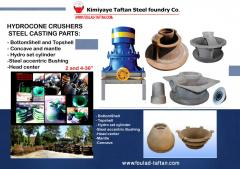 Hydro cone Crushers spare parts(Mostly Iranian