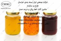 ارائه و راه اندازی ماشین آلات خط توليدوبسته بندي مربا، عسل وشيره خرما