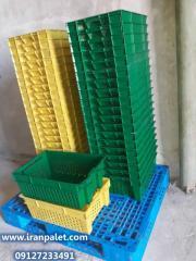 Decorative wares made of plastic