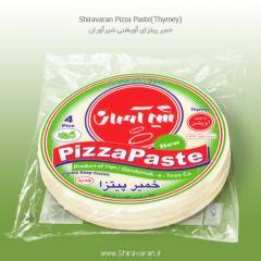 خمیر پیتزای آویشن